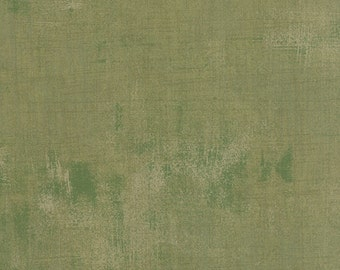 Mon Ami cotton fabric green grunge by Basic Grey for Moda fabric 30150 274