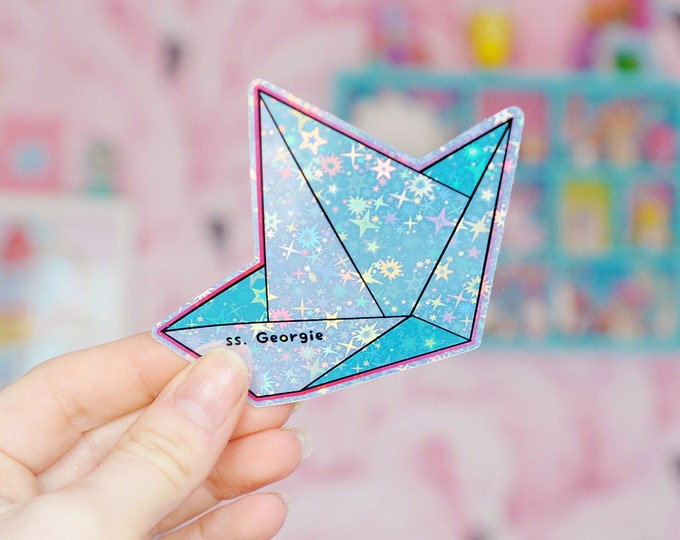 SS. Georgie Holographic Sticker