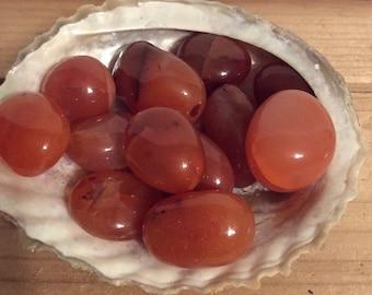 Carnelian Stone,Vitality,Love of life,Grounding and Acceptance, Healing Stone, Healing Crystal, Chakra Stone, Spiritual Stone