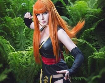 Dood of levend Kasumi geïnspireerd cosplay kostuum