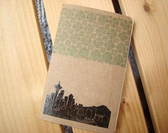 Seattle skyline Moleskine Cahier Notebook