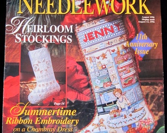 Cross Stitch and Needlework Magazine - Better Homes and Gardens - August 1996 - Christmas Patterns