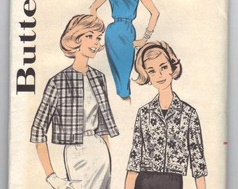 9701 Butterick Sewing Pattern Sheath Dress & Jacket Size 14 34B Vintage