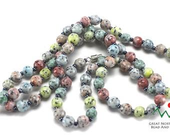 Vintage Czech Beads,Vintage Czech Glass,Vintage Czech,Czech Beads,Vintage Czechoslovakian Necklace, 30 IN Long #VIN023149