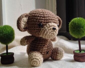 Amigurumi Monkey PDF - Crochet Pattern