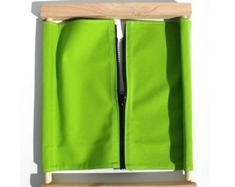 Frame dressing Montessori zipper (ZIP)