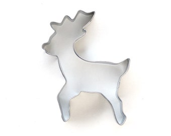 Deer Cookie Cutter, Christmas Cookie Cutter, Woodland Animal Cookie Cutter