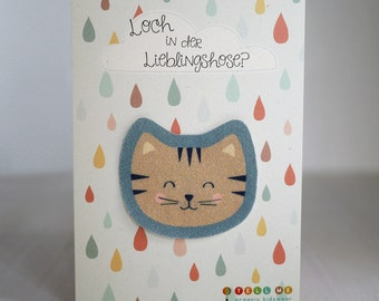 Sew-on patches CAT bio