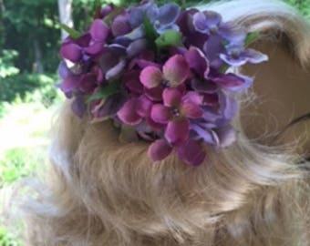 Lilac Side Comb Set