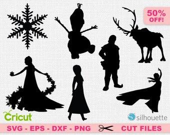 Frozen svg, Frozen cricut, Elsa svg, Prince hans svg, Disney SVG, Disney cricut, Disney silhouette, Frozen silhouette, Princess svg