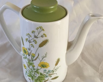 MYOTT Buttercup Coffee Pot - Ironstone - Made in England