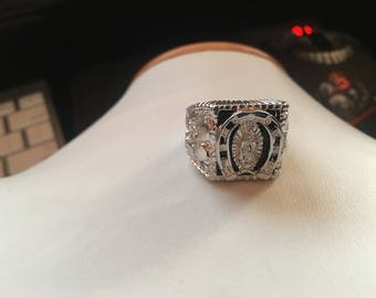 Silver Men's Ring Guadalupe