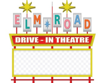 Elm Road Drive-In Theatre - Warren, Ohio