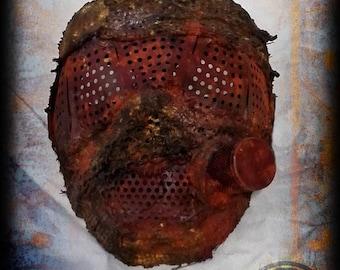 Scavenger Steal Mask-post apocalyptic-wasteland survivor