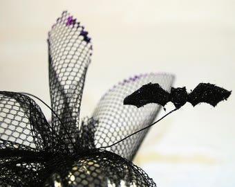 Black Batty Holiday Ornament - Set of 5 - Goth - Holiday - Tree - Decorations - Seasonal -