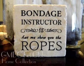 Bondage Instructor - Stone Fetish Magnet
