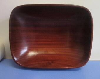 Mid-century rosewood bowl era Jean Gillon jacaranda modernist design 50s 60s