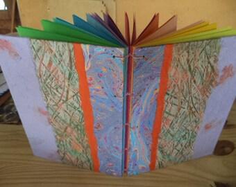 Rainbow book. Journal, sketch book, book of secrets...