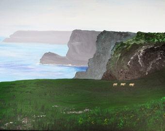Misty Cliffs at Castlemartin