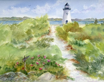 Martha's Vineyard - Lighthouse - Edgartown - Cape Cod