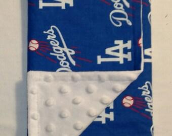LA Dodgers Burp Cloth