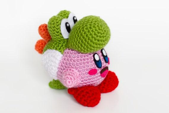 Amigurumi Nintendo : Crochet yoshi kirby amigurumi kirby s epic yarn and