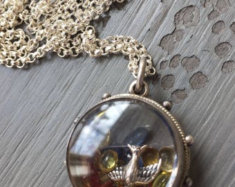 On Hold Shake It Locket Antique Victorian Locket French Locket Shaker Locket