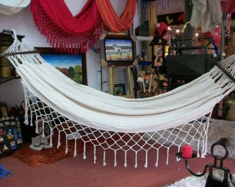 Hammock chair with back