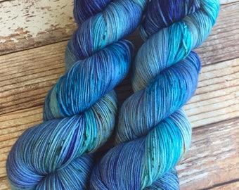 Isabel - After The Storm - Hand Dyed Yarn - 75/25 Superwash Merino/Nylon
