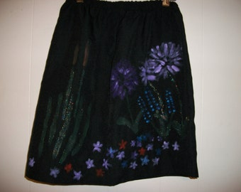 Hand-painted skirt, size 12