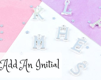 Add An Initial To Your FairyFountainKids Jewellery And Accessories!