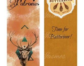 Harry Potter inspired Bookmarks