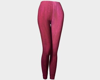 Purplely Red leggings. Not to bold. Not to bright. But U will stand out in the crowd! Get a pair today!!