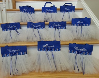 Frozen birthday party favor bags!