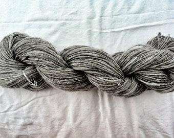 Jersey Grey Super Soft Hand Spun Yarn 210 yards