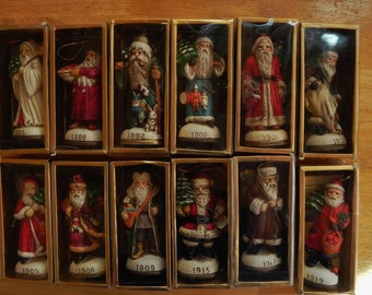 The Memories of Santa Collection Christmas Ornaments - Set of 12
