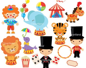 INSTANT DOWNLOAD. Circus 20. Personal and commercial use.