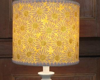 Handmade Daisy Paper Drum Lampshade