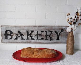 farmhouse sign, bakery decor, farmhouse kitchen, farmhouse wall decor, bakery sign, kitchen wall decor, kitchen decor, handpainted signs