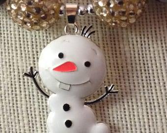 Frozen Olaf Bubblegum Necklace