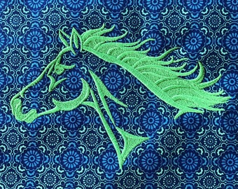 FLOWING HORSE Craft Quilting Square