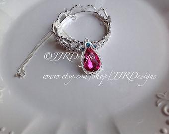 Pink Amulet- Princess Sofia Inspired Girl Necklace- Sofia Amulet