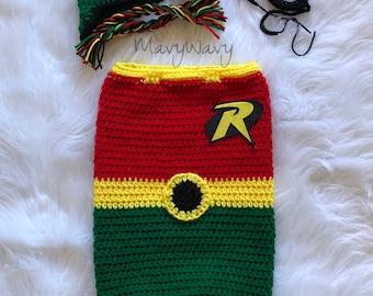Robin Sidekick Cocoon Outfit