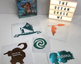 Moana Decal Collection