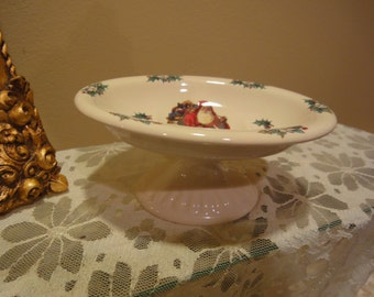 Crowne Oakes Designs Christmas Porcelain Soap Dish/Vintage Bath/Vintage Christmas/Holiday Soap Dishes/Home and Living/Bathroom