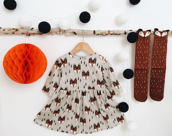On order! Pre-order! Foxes Organic Cotton Dress