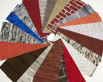 Dresden Neighborhood Architectural House Fabric Construction Packs