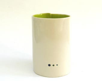 wonderful whimsical  vessel   ...  3 dots  ...   modern   ...   minimal