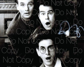 Ghostbusters signed Bill Murray Harold Ramis Dan Aykroyd 8X10 photo picture poster autograph RP