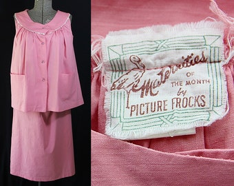 50s Maternity Dress, Blouse, Skirt, Maternities by Picture Frocks, Rhinestones, Ric Rac